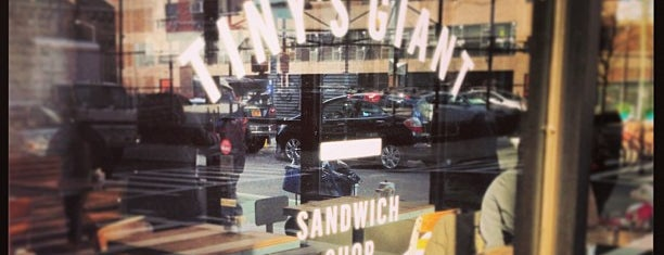 Tiny's Giant Sandwich Shop is one of cheap eats - NY airbnb.