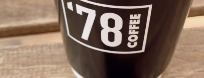 '78  Coffee Sümer is one of Eskişehir.