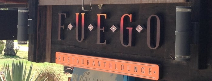 FUEGO Restaurant & Lounge is one of Tempat yang Disukai Lu.