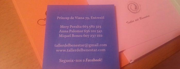 Taller del Benestar is one of Lugares favoritos de María José.