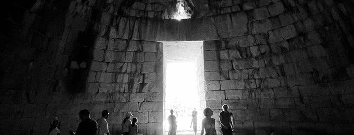 Treasury of Atreus is one of Grécia.