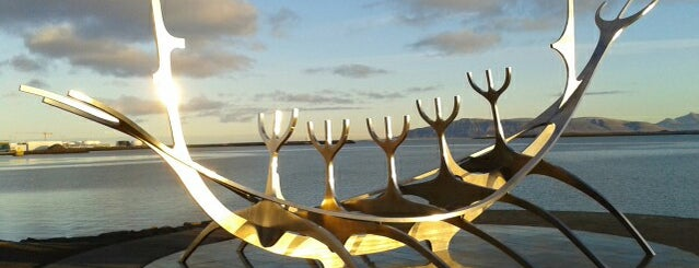 Sólfar / Sun Voyager is one of iceland.