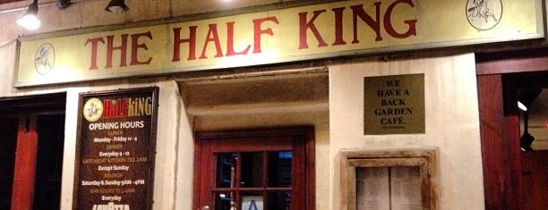 The Half King is one of DRINK.