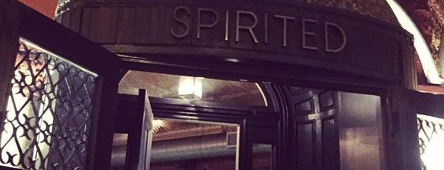 Spirited is one of Brooklyn Yum.