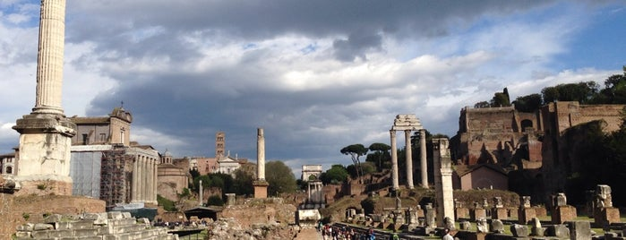 Forum Romawi is one of ROME.