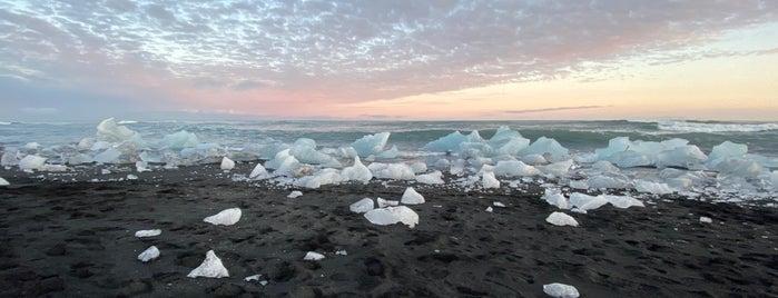 Diamond Beach is one of Posti salvati di Sevgi.