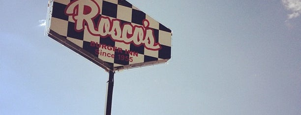 Rosco's Burger Inn is one of Lugares guardados de ElJohNyCe.
