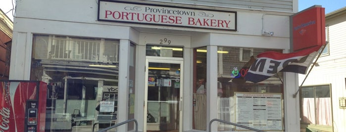 Provincetown Portuguese Bakery is one of Lugares favoritos de Erik.