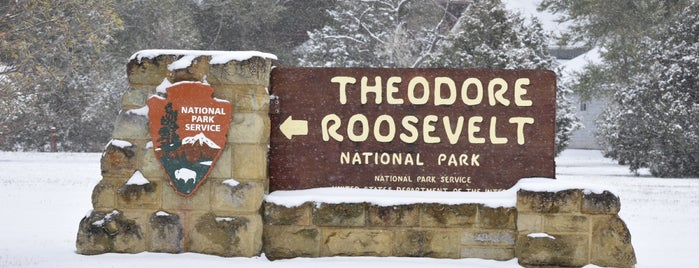 Theodore Roosevelt NP Visitor Center is one of Glacier to Chicago.