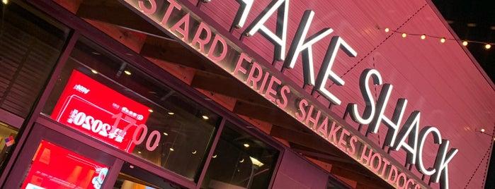 Shake Shack is one of Las Vegas.