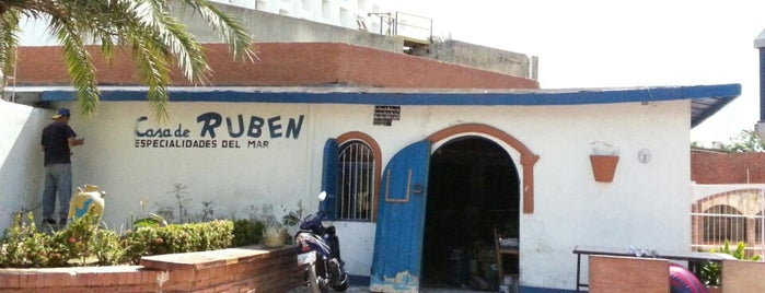Ruben Restaurant is one of margarita.