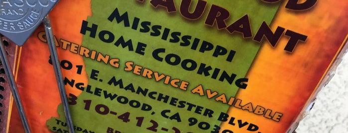 M&M Soul Food Restaurant is one of สถานที่ที่บันทึกไว้ของ L.D.