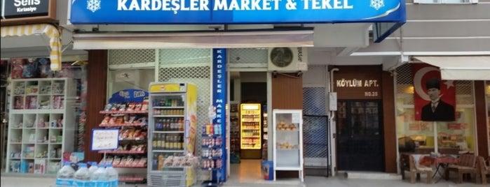 Kardeşler Market is one of Esay 님이 좋아한 장소.