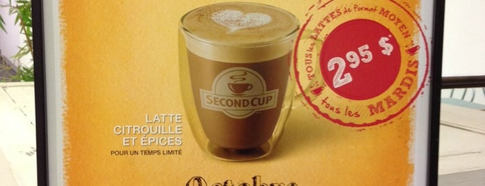Second Cup is one of **Montréal**.