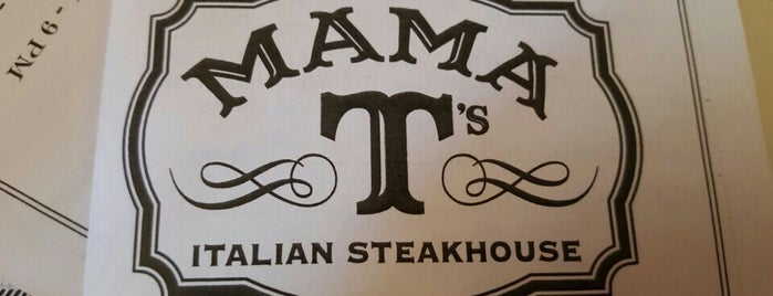 Mama T's Italian Steak House is one of สถานที่ที่ Diana ถูกใจ.