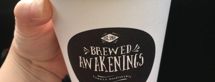 Brewed Awakenings is one of Portland.