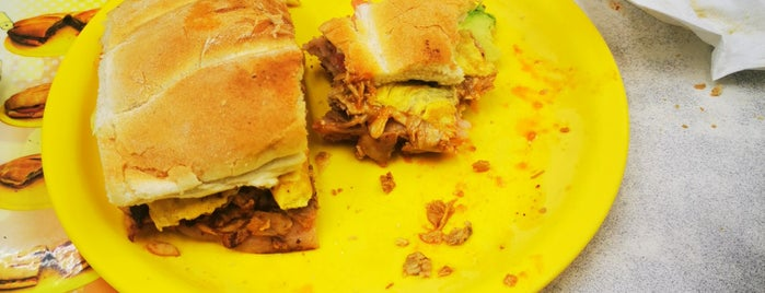 Tortas León is one of places to go.