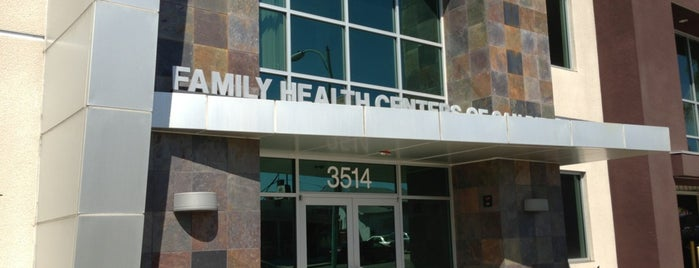 Family Health Centers of San Diego, North Park Family Health Center is one of Posti salvati di Ed.