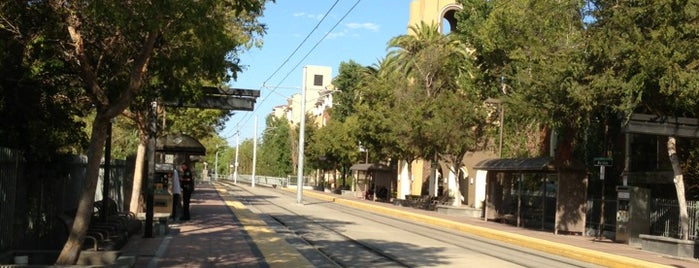 Rio Vista Trolley Station is one of SD.