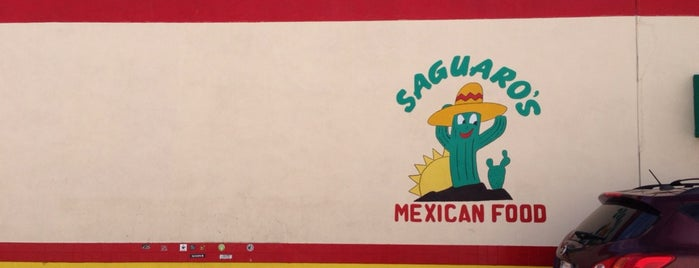 Saguaro's Mexican Food is one of Locais salvos de Erin.