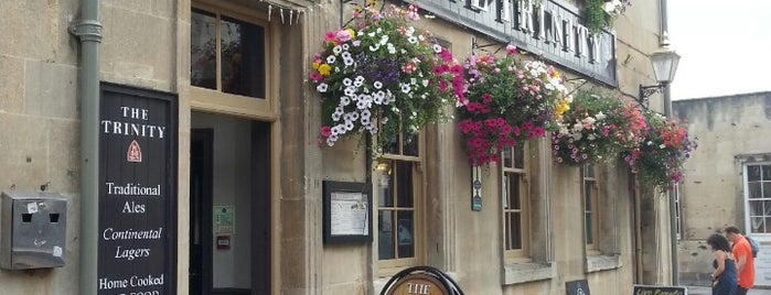 Trinity is one of Cask Marque Pubs 02.