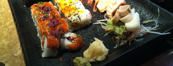 Oishii - Sushi, Grill & More is one of Orte, die Ibrahim gefallen.
