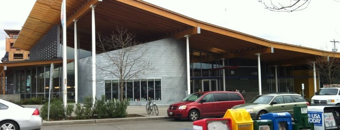 Seattle Public Library - Ballard Branch is one of mark : понравившиеся места.