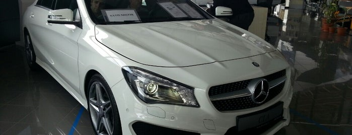 Has Otomotiv / Mercedes-Benz is one of Lugares favoritos de Korhan.