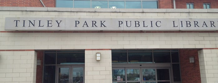 Tinley Park Public Library is one of Connor's places.