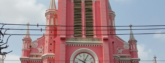 Nhà Thờ Tân Định (Tan Dinh Church) is one of Places In HCMC.