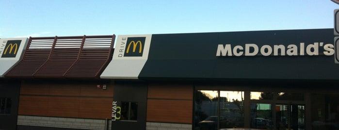 McDonald's is one of Lieux qui ont plu à Katia.