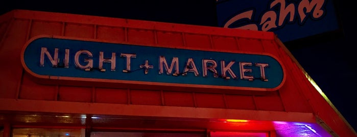 Night + Market Sahm is one of LA LA.