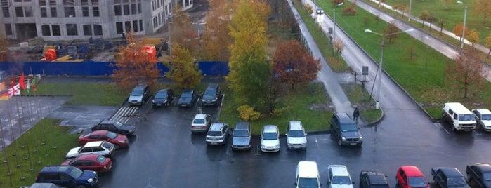 Санкт-Петербургский Государственный аграрный университет.  Главный Корпус is one of สถานที่ที่ Tanya ถูกใจ.