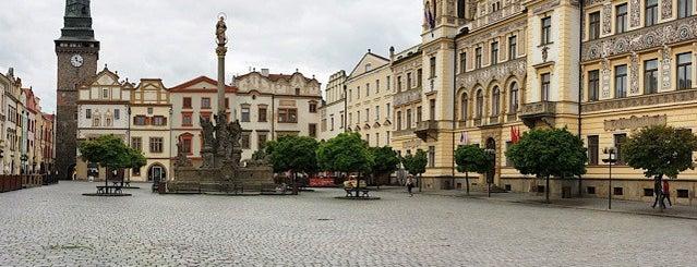 Pernštýnské náměstí is one of Pardubice.
