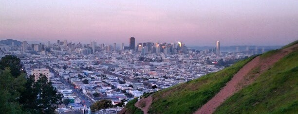 Bernal Heights Park is one of San Fran.