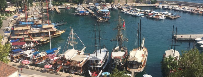 Yat Limanı is one of Antalya.