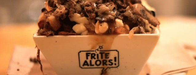 Frite Alors! is one of The City's Top Five Poutine Joints.