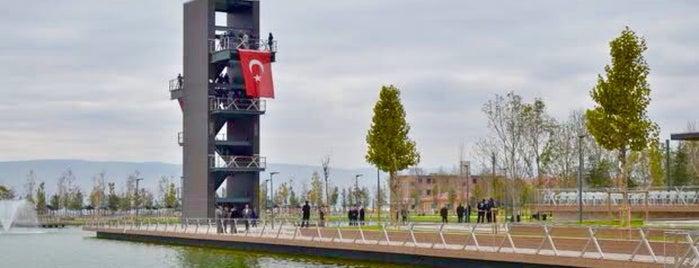 Kentpark is one of Çorum.