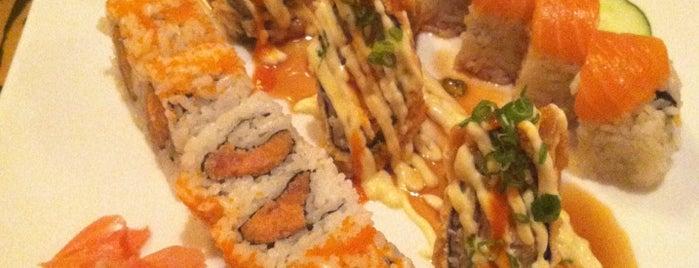 Sakura Japanese Restaurant is one of Orte, die Dawn gefallen.