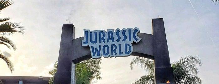 Jurassic World: The Ride is one of Orte, die Fernando gefallen.