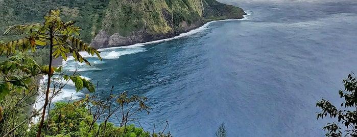 Waipio Lookout is one of Hawai'i.