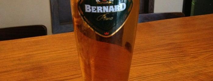 Bernard Pub is one of Tempat yang Disukai Jiří.