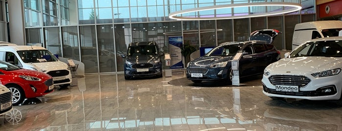 Ford Nazer Otomotiv is one of สถานที่ที่ Hakan ถูกใจ.