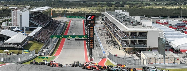Circuit of The Americas is one of Austin.