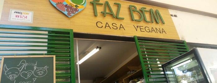 Faz Bem Casa Vegana is one of Brasília Veggie.