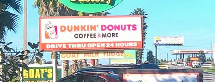 Dunkin' is one of Orlando Vacation.