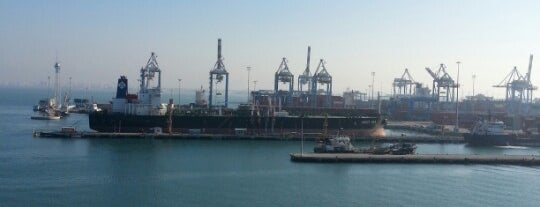 Port of Haifa is one of Haifa.