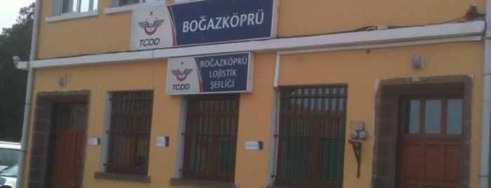 Boğazköprü Tren İstasyonu is one of Erkan 님이 좋아한 장소.