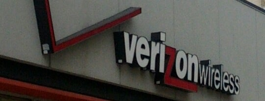 Verizon is one of Lieux qui ont plu à Jingyuan.