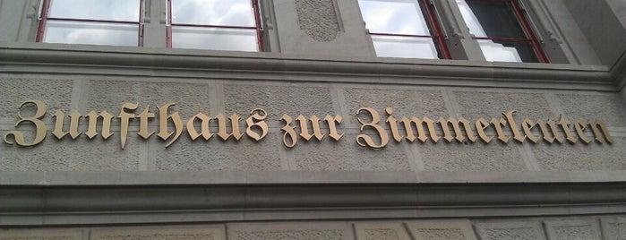 Zunfthaus zum Rüden is one of Hemera 님이 좋아한 장소.